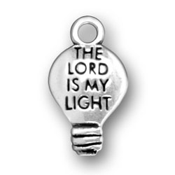 The Lord Is My Light Charm Image
