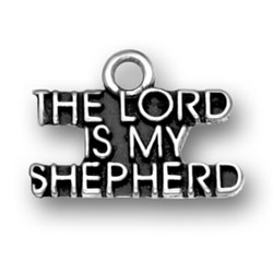 The Lord Is My Shepherd Charm Image