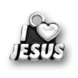 I Heart Jesus Charm Image