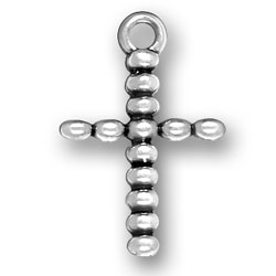 Cross Made Of Ovals Charm Image