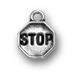 Stop Sign Charm Image