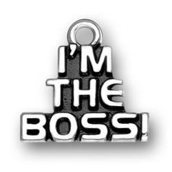 Im The Boss Charm Image