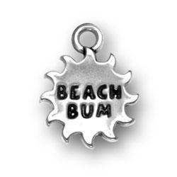 Beach Bum Charm Image