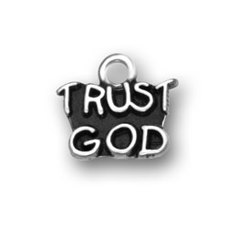 Trust God Charm Image