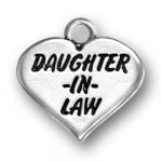 Daughter In Law Heart Charm Image