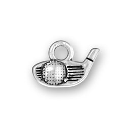 Golf Club Head Ball Charm Image