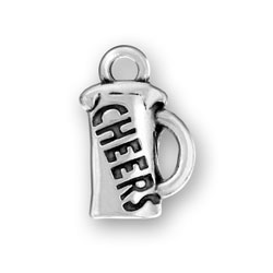 Cheers On Beer Mug Charm Image