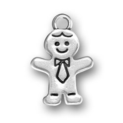 Gingerbread Man Charm Image