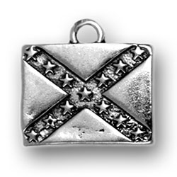 Rebel Flag Charm Image
