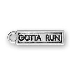 Gotta Run Charm Image
