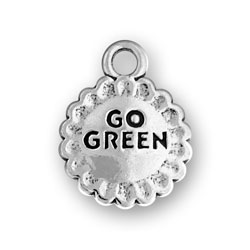 Go Green Charm Image
