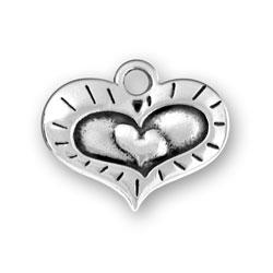 Triple Heart Charm Image