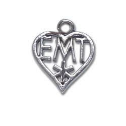 Emt Heart Charm Image