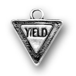 Yield Sign Charm Image