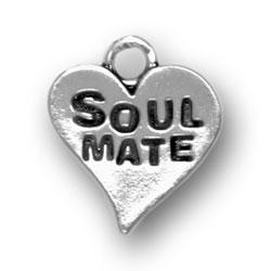 Soul Mate Heart Charm Image