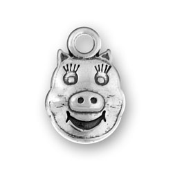 Pig Face Charm Image