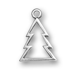 Cookie Cutter Christmas Tree Charm - Christmas Tree Charms