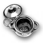 Pot With Lid Charm Image