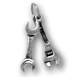 Two Wrench Set Charm Image
