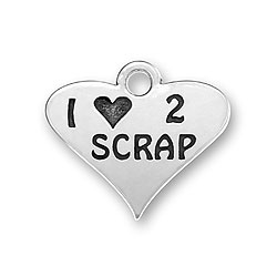 I Love 2 Scrap Charm Image