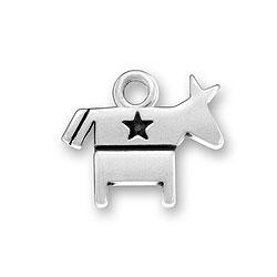 Democrat Symbol Charm Image