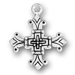 Medieval Look Cross Charm Image