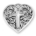 Cross Heart Charm Image