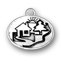 Cabin In Woods Charm Image