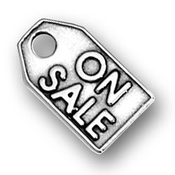 On Sale Tag Charm Image