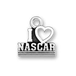 I Heart Nascar Charm Image
