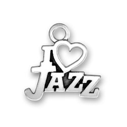 I Heart Jazz Charm Image