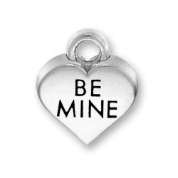 Be Mine Heart Charm Image