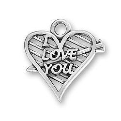 I Love You Charm Image