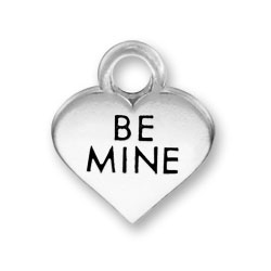 Thin Be Mine Heart Charm Image