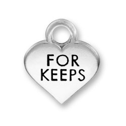 Thin For Keeps Heart Charm Image