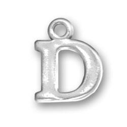 Letter D Charm Image