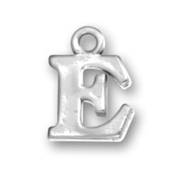 Letter E Charm Image