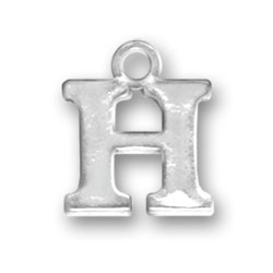 Letter H Charm Image