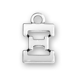 Greek Alphabet Xi Charm Image