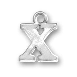 Letter X Charm Image