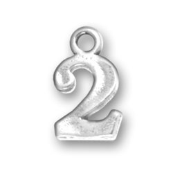 Number 2 Charm Image