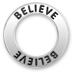 Believe Message Ring Image
