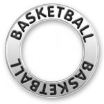 Basketball Message Ring Image