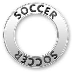 Soccer Message Ring Image