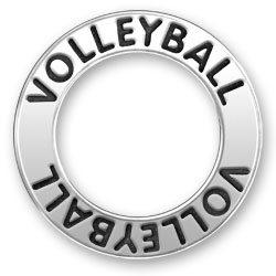Volleyball Message Ring Image