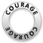 Courage Message Ring Image