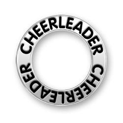 Cheerleader Message Ring Image