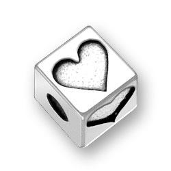 45mm Heart Bead Image