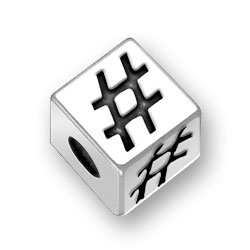 45mm Number Sign Bead Image