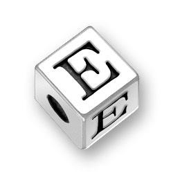45mm Alphabet Letter E Bead Image